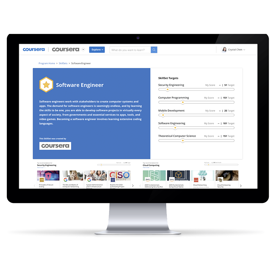 Seamlessly deploy targeted learning with job-based SkillSets