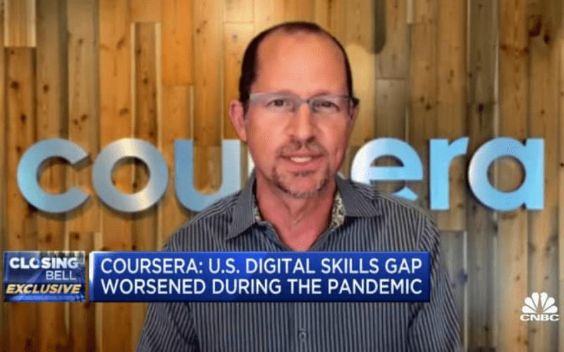 CNBC: Coursera CEO Jeff Maggioncalda on Closing the Digital Skills Gap