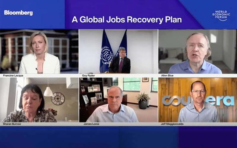 World Economic Forum Jobs Reset Summit: A Global Jobs Recovery Plan